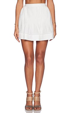 TRYB212 Lou Skirt in White