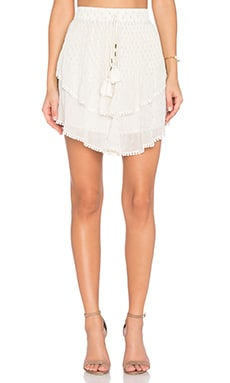 TRYB212 Collins Skirt in Porcelain
