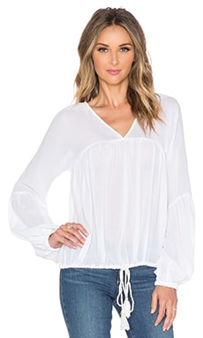 TRYB212 Flo Blouse in White