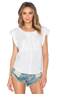 TRYB212 Frya Top in White