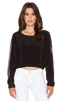 TRYB212 Stuart Top in Black