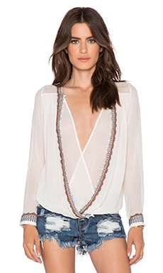TRYB212 Harrison Top in Ice White