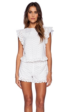 TRYB212 Rachel Top in White
