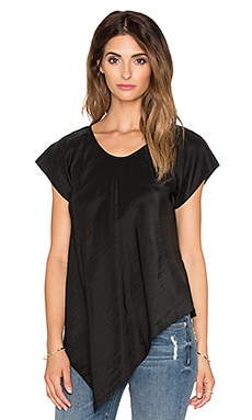 TRYB212 Leaf Top in Black