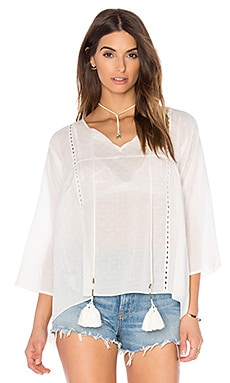 TRYB212 Simone Blouse in White