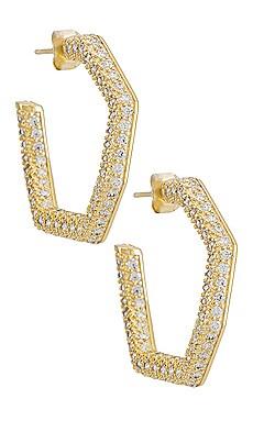 СЕРЬГИ LULU The M Jewelers NY $95