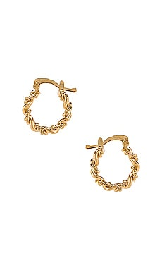 Mini Capri Hoops The M Jewelers NY $54