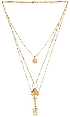 Full Saint Layer Necklace The M Jewelers NY $130