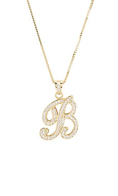 bc2efaba2f1 The Iced Out Script Initial B Necklace The M Jewelers NY $150 ...