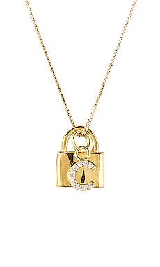The Lock C Initial Necklace The M Jewelers NY $110