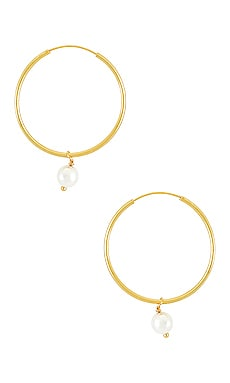 The Hanging Lia Pearl Earrings The M Jewelers NY $98 NEW ARRIVAL