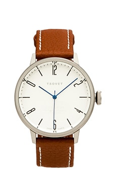 Tsovet SVT-CN38 38MM en Marron & Blanc