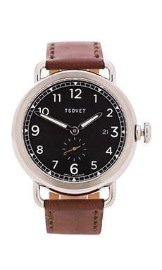 Tsovet SVT-CV43 in Stainless & Dark Brown