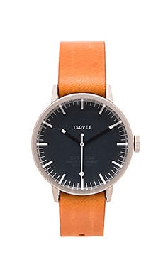 Tsovet SVT-SC38 in Stainless & Dark Grey & Tan