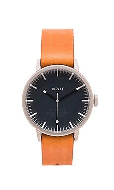 Tsovet SVT-SC38 in Stainless & Dark Grey & Tan