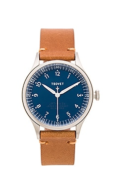 Tsovet JPT-PW36 in Stainless Navy Light Brown