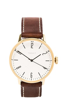 Tsovet SVT-CN38 in Gold & Silver & Dark Brown