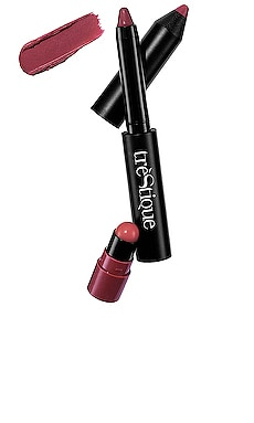 Matte Color & Shiny Balm Lip Crayon treStiQue $25