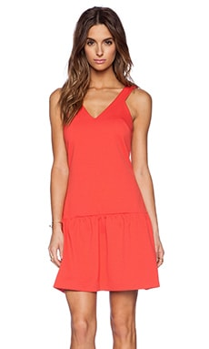 Trina Turk Isis Dress in Red Coral