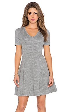 Trina Turk Laila Dress in Grey Heather