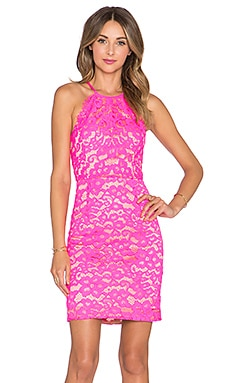 Trina Turk Parry Dress in Fuchsia