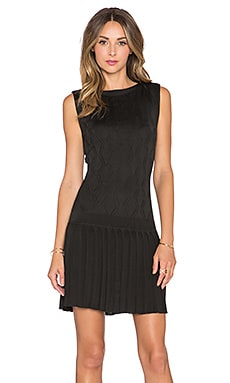 Trina Turk Mackenzie Dress in Black