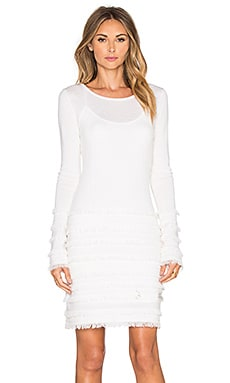 Trina Turk Sass Sweater Dress in Ivory