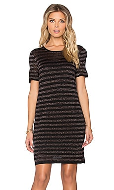 Trina Turk Taylor Mini Dress in Black & Multi
