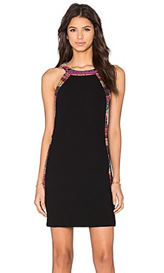 Trina Turk Ashland Dress in Black Multi