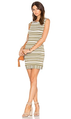 Trina Turk Sleeveless Zinnia Dress in Olive