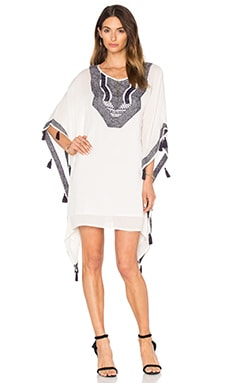 Trina Turk Luella Dress in Whitewash & Pisces