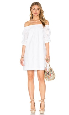 Trina Turk Neville Dress in White