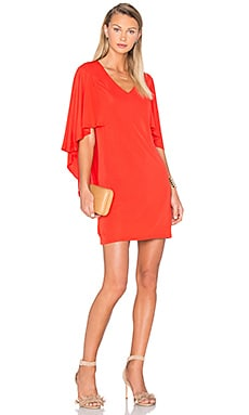 Marino Dress en Red Grotto