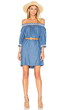 Trina Turk Neville Dress in Indigo