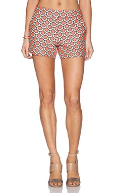 Trina Turk Corbin 2 Short in Hot Coral