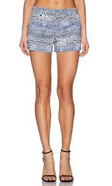 Trina Turk Corbin 3 Short in Blue Print