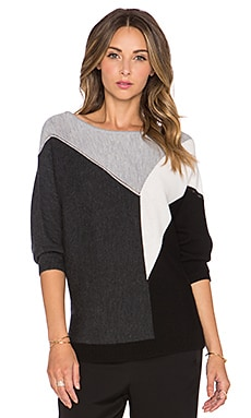 Trina Turk Shelby Sweater in Heather Grey