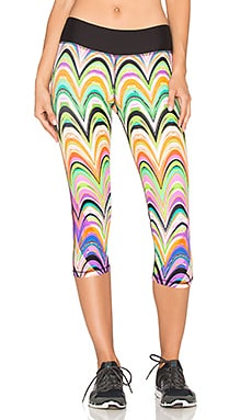 Trina Turk New Wave Mid Length Legging in Multi