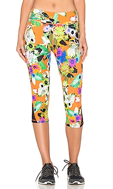 Trina Turk Pop Floral Mid Length Leggings in Multi
