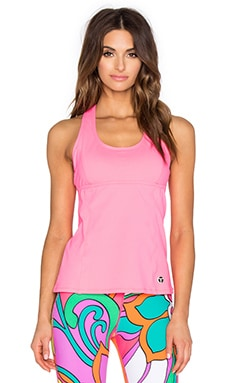 Trina Turk Racer Back Tank in Watermelon