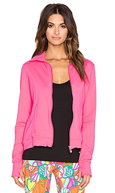 Trina Turk Zip Up Jacket in Watermelon