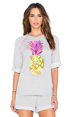 Trina Turk Pineapples Funfetti Sweatshirt in Multi