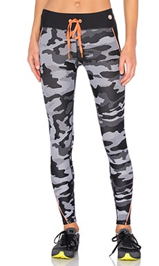 Trina Turk Congo Camo Legging in Black