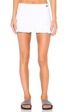 Trina Turk Patchwork Jacquard Tennis Skirt in White