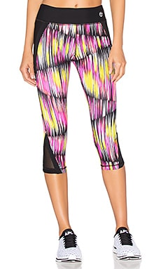 Digikat Crop Legging in Sunset