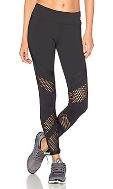 Laser Cuts Solids Legging en Noir
