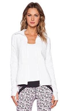 Trina Turk Racquet Club Jacquard Jacket in White