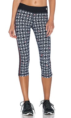 Trina Turk Bal Harbour Mid Length Leggings in Black
