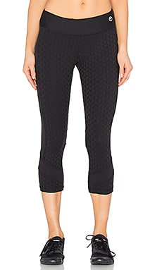 Trina Turk Bermuda Triangle Mid Length Legging in Black