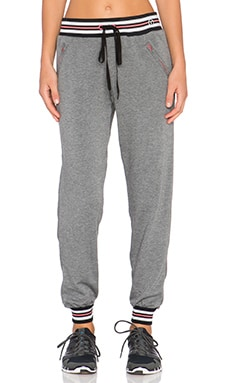 Trina Turk Fleece Jogger Pant in Grey